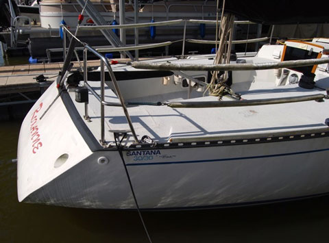 Santana 3030 Grand Prix, 1985 sailboat