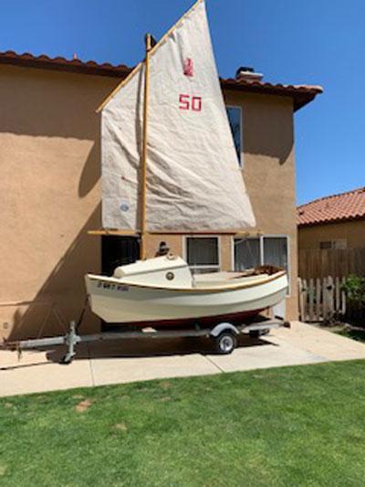 Scamp sailboat