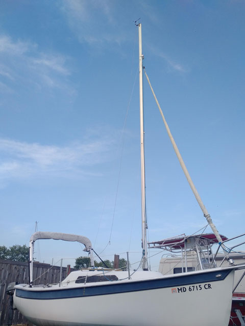 Seaward Fox 18, 1990 sailboat
