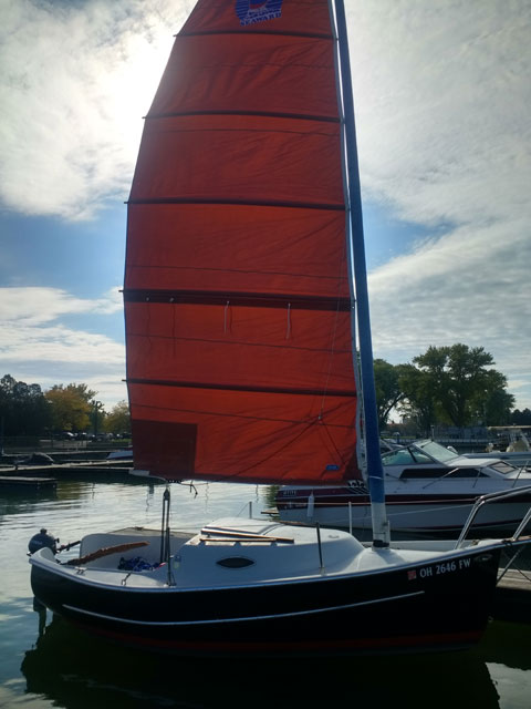 Seaward Fox 19 ft, 1995 sailboat