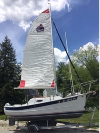 Seaward Fox 17, 1999 sailboat