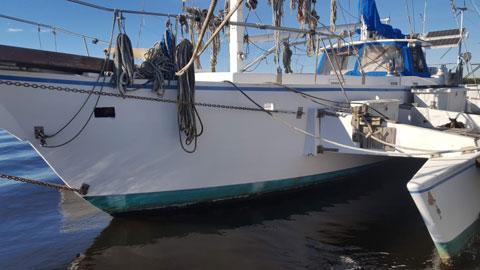 Slintak Trimaran Schooner, 1996 sailboat