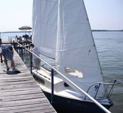 South Coast Seacraft, 22 ft., 1979-80 sailboat