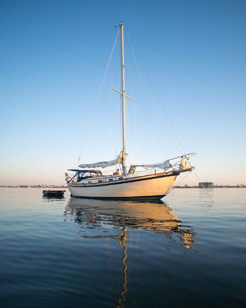 Southern Cross 31 ft., 1978 sailboat