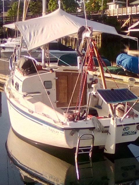 Sovereign Camp Cruiser, 18 ft sailboat