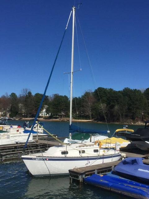 Sovereign 23, 1985 sailboat