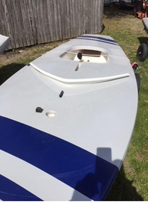 Sunfish, race version, 2008 sailboat