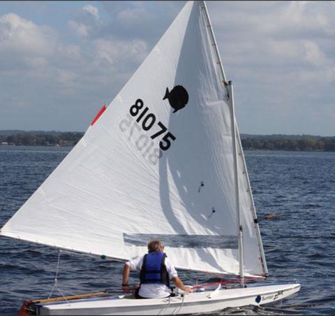Racing Sunfish, 2014 sailboat