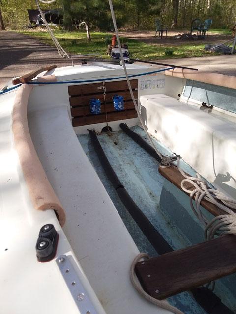 Tanzer 16 ft., 1973 sailboat