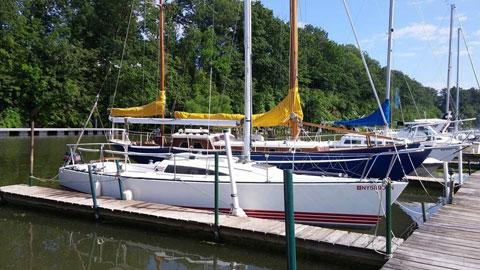 Tartan Pride 270, 1985 sailboat