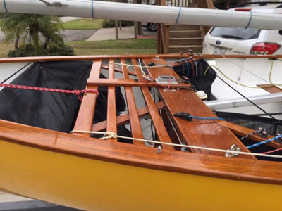 Thistle 17 Ft, 1974, sailboat