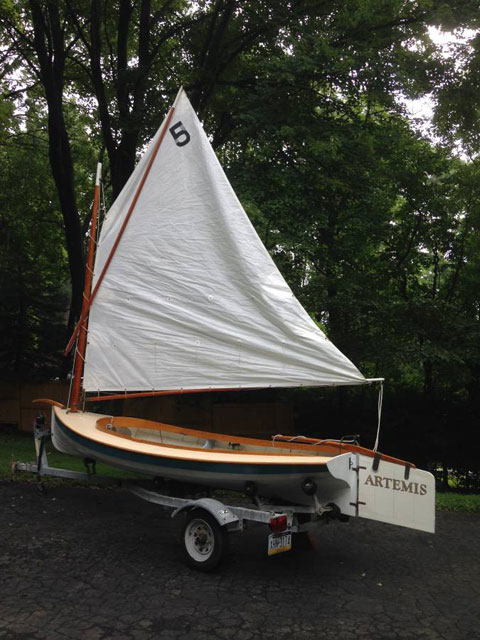 Delaware River Tuckup, 15 ft., 1980s sailboat