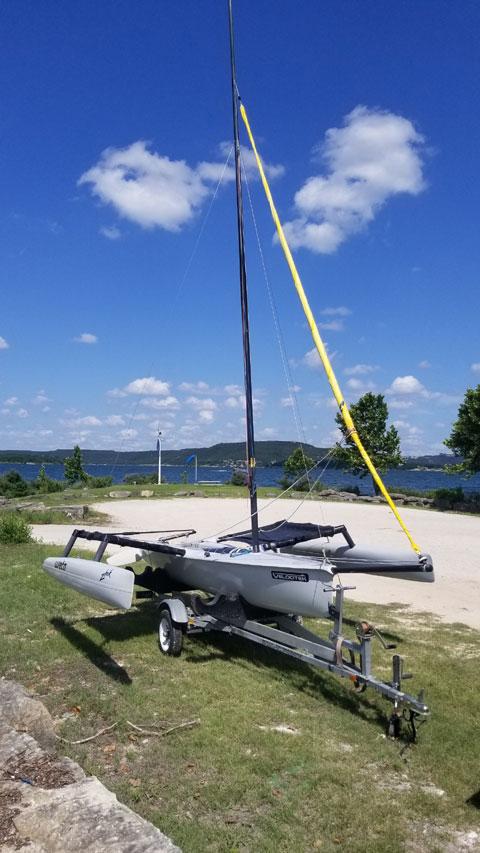 Weta 4.4, 2010 sailboat