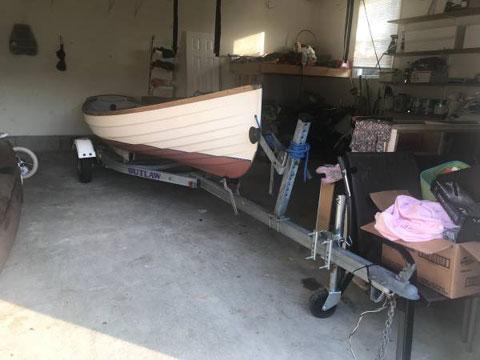 Whitehall Spirit 14 sailboat