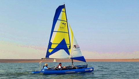 Windrider 17', 2002 sailboat
