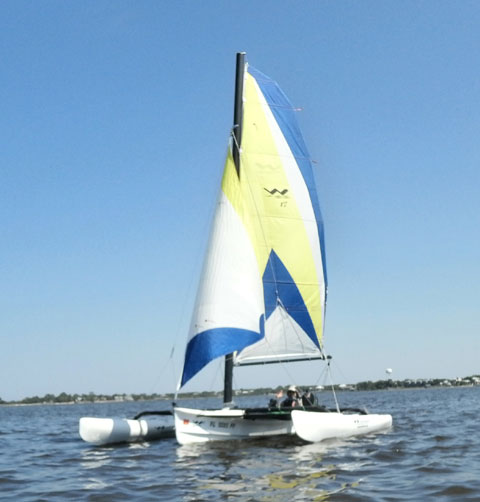 Windrider 17 Trimaran, 2012 sailboat