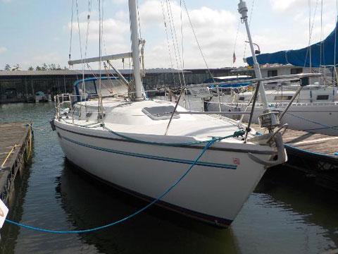 Catalina 36 MKII, 1995 sailboat