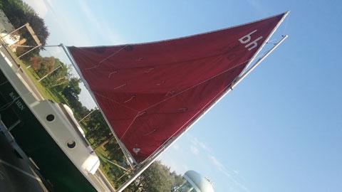 Bay Hen 21, 1984 sailboat