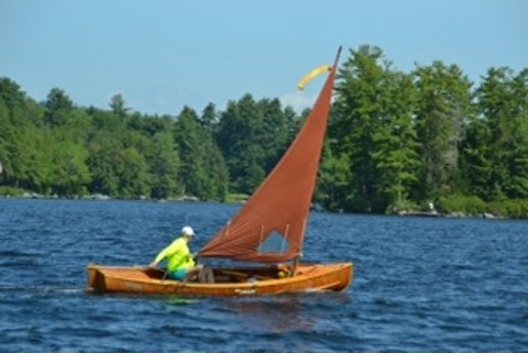 Adirondack Goodboat LakeSailer, 17 ft. sailboat