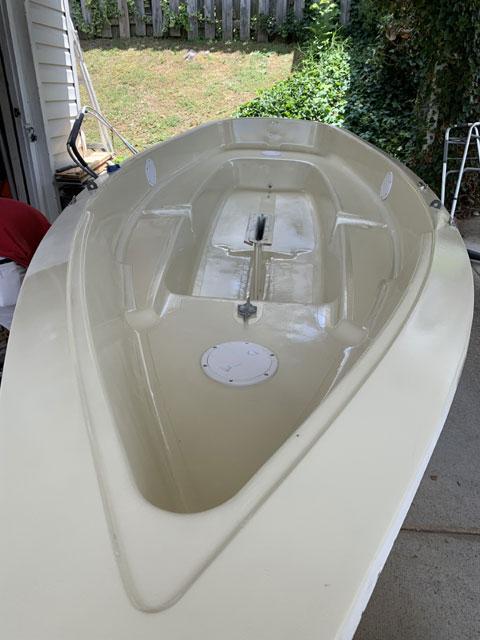 Amf Puffer sailboat