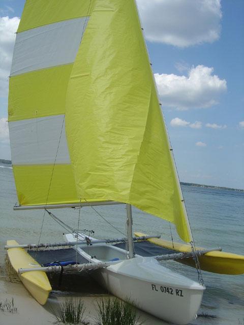 Aquadyne Sailbird Trimaran, 1974 sailboat