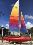 1977 Beachcat sailboat