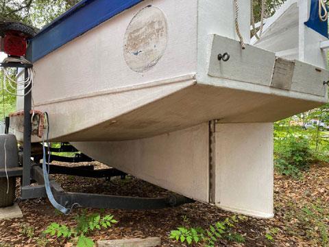 Bolger Micro sailboat