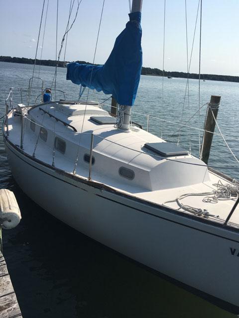 Bristol 29.9, 1979 sailboat