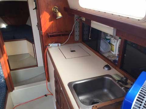 Cal 34, MK II, 1975 sailboat