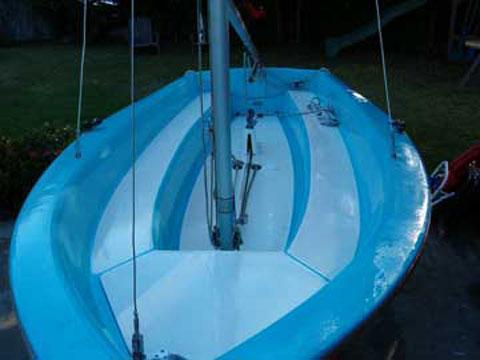 Capri Omega 14, late 80s, Humble Texas sailboat