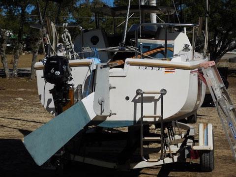 Catalina 22, 1987 sailboat