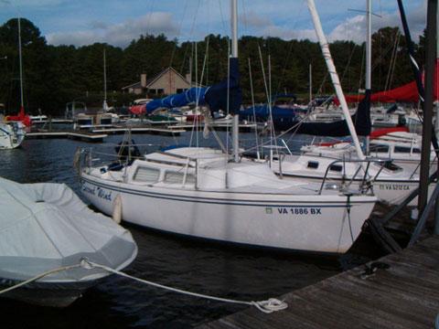 Catalina 22, 1981 sailboat