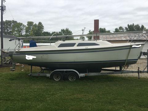 Catalina 250 WB, 1995 sailboat