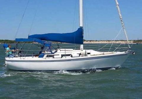 Catalina 30 Mk II, 1993 sailboat
