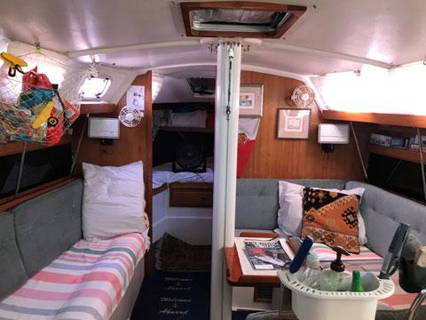 Catalina 34 MK 1.5, 1992 sailboat