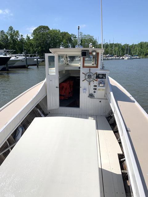 Custom Ward Classic Chesapeake Deadrise, 31ft., 1979 sailboat