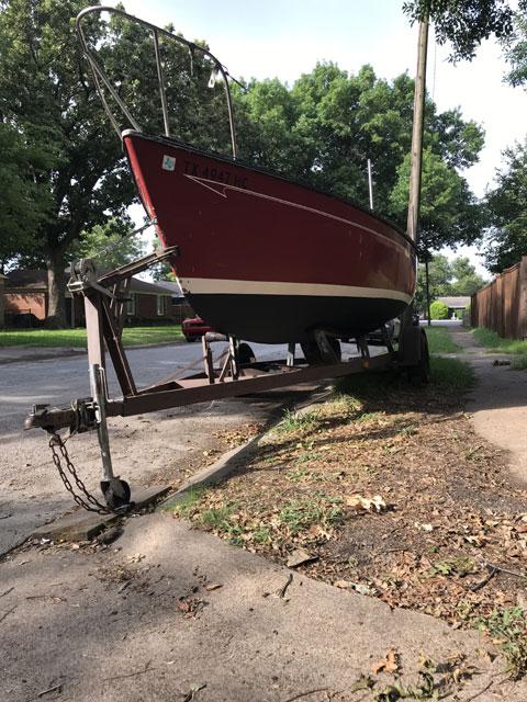Chrysler 22, 1980 sailboat