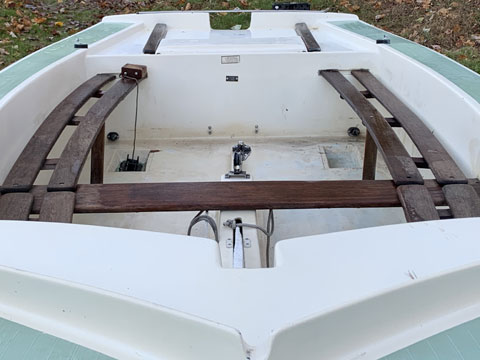CL16, 1980 sailboat