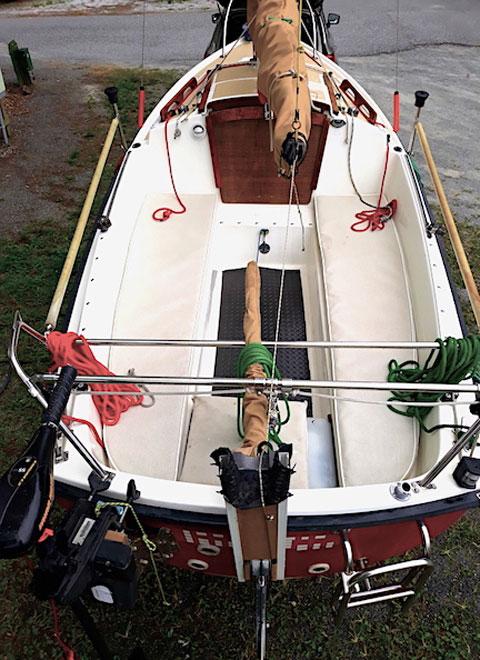 ComPac 16 CB, 1998 sailboat