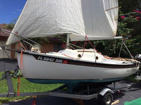 Compac 16, 1990 sailboat