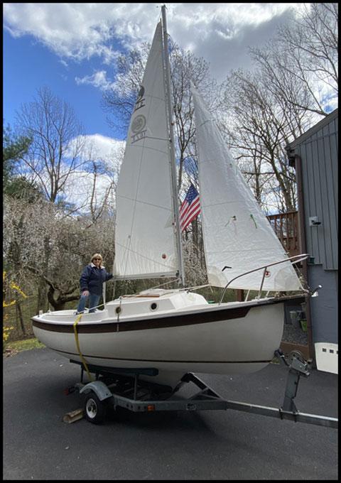 Com-Pac 16/2, 16ft, 1987 sailboat