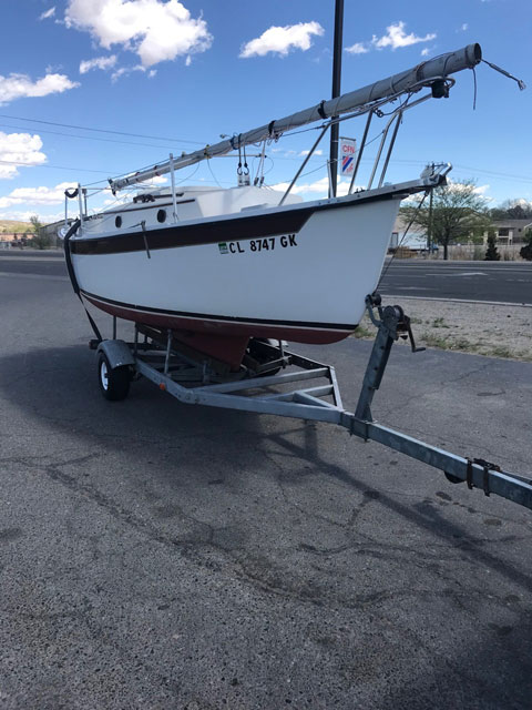 Compac  19/3, 1990 sailboat
