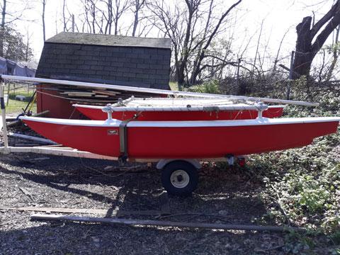 Doodle Cat 12,  sailboat