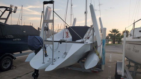 Farrier F25c, 1999 sailboat