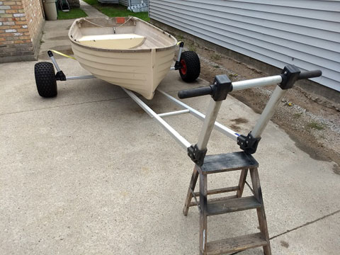 Fatty Knees Dinghy 8 ft., 1984 sailboat