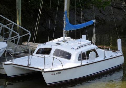 Hirondelle Mk II Catamaran, 1977 sailboat