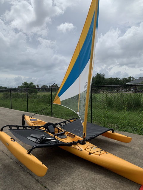 Hobie Mirage Adventure Island Kayak/Trimaran, 2012 sailboat
