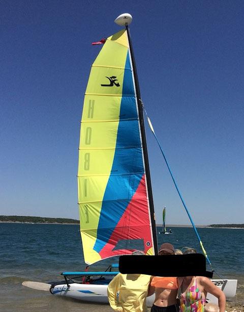 Hobie Cat Getaway, 2005 sailboat