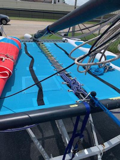 Hobie Wave catamaran, 2014 sailboat