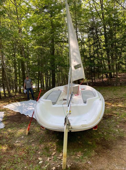 Hunter 15, 2011 sailboat